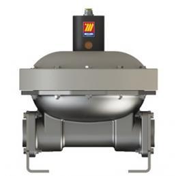 MECLUBE Compensatore pneumatico per fluidi Mod. DAMP 1000 in SS AISI 316 - 2