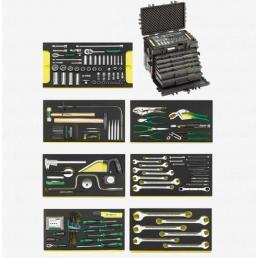 STAHLWILLE Assortimento per componenti elettronici in valigetta n. 13209 (101 Utensili) - 1