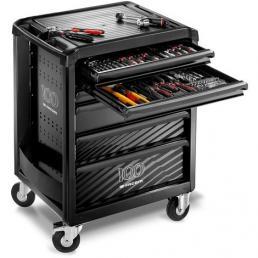 FACOM Carrello roll 6 cassetti con assortimento 7 moduli  ed. limitata, omaggio cassetta metallica - 1