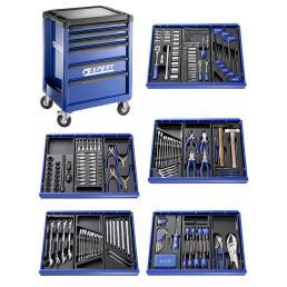 EXPERT Carrello X285 7 cassetti, con 207 utensili (3 moduli) - 1
