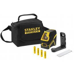 STANLEY Livella laser a croce raggio rosso/verde  batteria alcalina - 1
