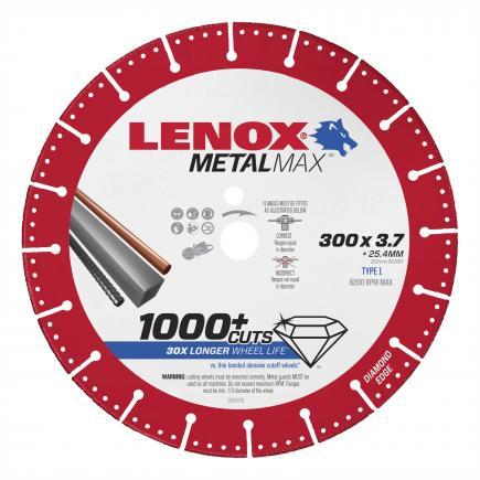 LENOX Disco diamantato METALMAX™, 300mm, per troncatrice a scoppio - 1