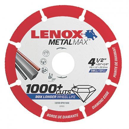 LENOX Disco diamantato METALMAX™, 115mm, per smerigliatrice angolare - 1
