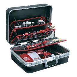 USAG Valigia portautensili con assortimento 496 H2 per elettrotecnica (87 pz) - 1