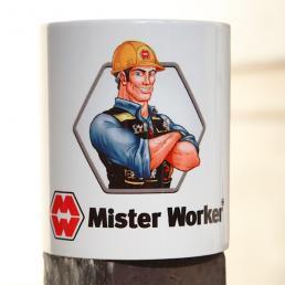 MISTER WORKER™ Mug - Tazza Grande da Cantiere - 1