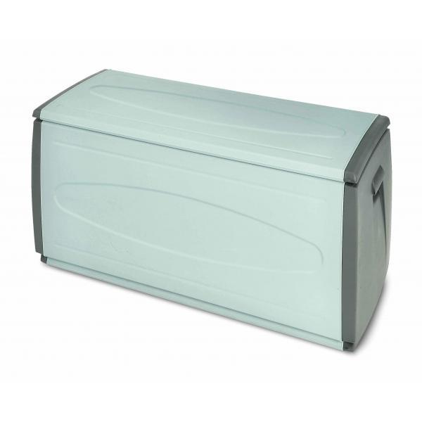 TERRY 1002737 - PRINCE BOX 120 H GRIGIO/TORTORA - Baule multiuso in plastica 1 modulo 308 lit. 120x54x57 cm Grigio/Tortora - 1