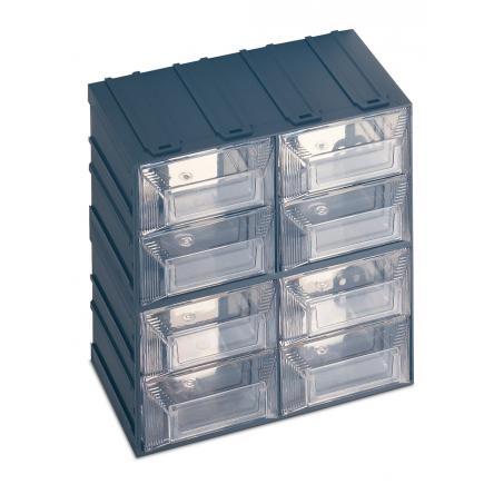 Cassettiere Plastica Per Minuterie.Terry 1000016 Vision 13 Cassettiera Portaminuteria Con