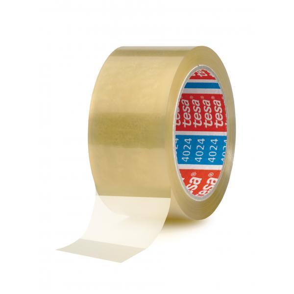 TESA Nastro adesivo per imballaggio universale trasparente 66 mt x 50 mm - 1