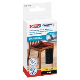 TESA Nastro da cucire universale attacca/stacca con velcro 1 mt x 20 mm - 1