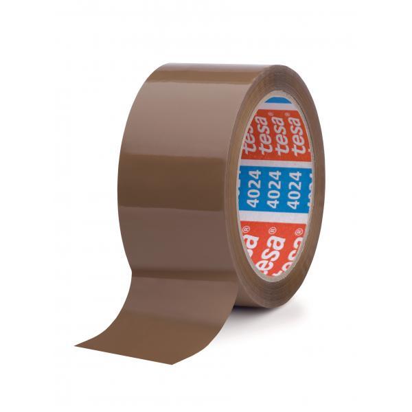 TESA Nastro adesivo per imballaggio universale marrone 66 mt x 50 mm - 1