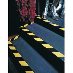TESA Nastro adesivo per segnalazione di superfici in PVC giallo/nero - 4