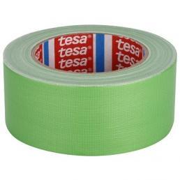 TESA Nastro telato standard rivestito in polietilene verde 25 mt x 50 mm - 1