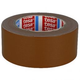 TESA Nastro telato standard rivestito in polietilene marrone 25 mt x 50 mm - 1