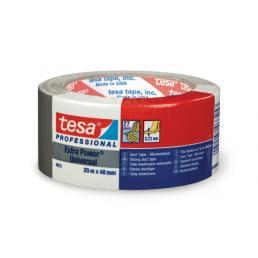 TESA Extra Power® Universal Nastro Americano multiuso in tessuto plastificato colore grigio 25 mt x 48 mm. Colore Silver - 1