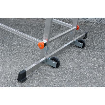 GIERRE Trabattello in alluminio Fast&Lock 400 - 4