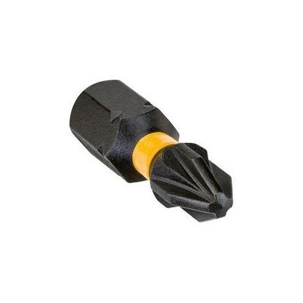 "DeWALT Inserto per avvitatori a impulsi Torsion Extreme Pozidriv 25mm 1-4"" (conf. 5 pezzi) - 1"
