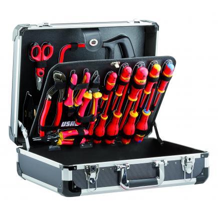 USAG Valigia con assortimento per elettrotecnica (20 pz) - 1