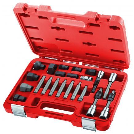 USAG Set di 22 chiavi per lo smontaggio e il montaggio delle ghiere pulegge alternatori - 1