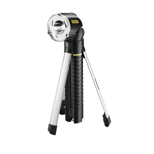STANLEY Torcia Led Ricaricabile con Treppiede - 1