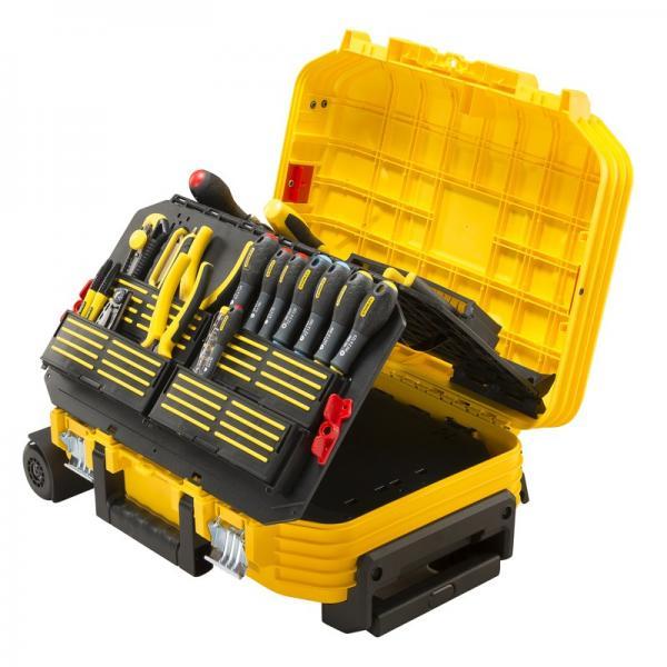 STANLEY FMST1-75530 - Valigia porta utensili Stanley FATMAX® con ruote + 100 utensili - 1