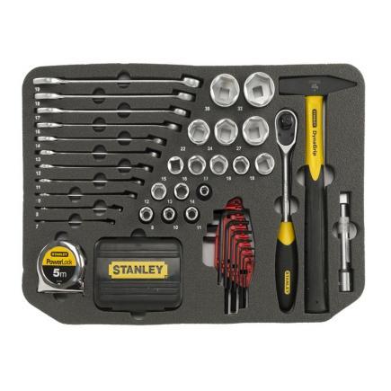 STANLEY Valigia porta utensili Stanley FATMAX® con ruote + 100 utensili - 3