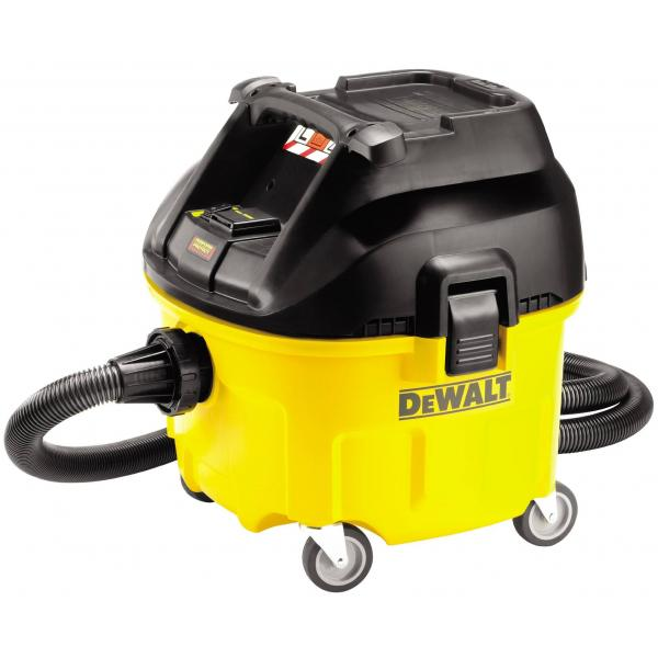 DeWALT Aspiratore solidi e liquidi lt.30 1400W Classe L - 1
