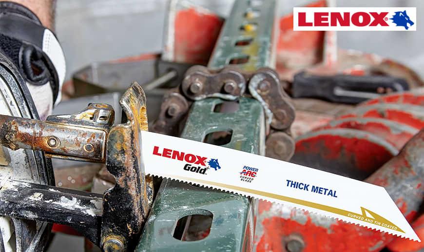 Punte, lame e seghe LENOX | Rivenditore Ufficiale | Mister Worker™