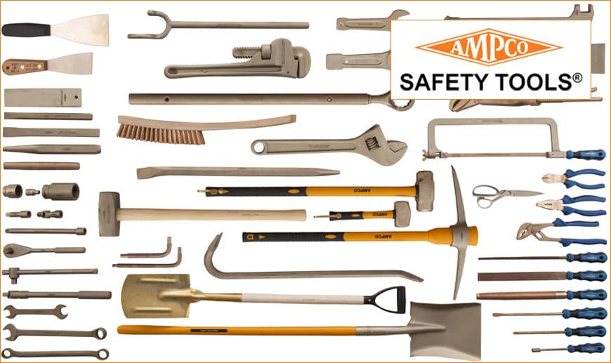 Utensili Anti-Scintilla e Anti-Magnetici AMPCO SAFETY TOOLS | Rivenditore Ufficiale | Mister Worker™