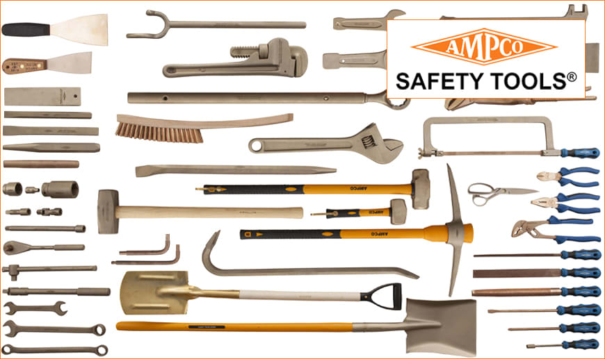 Non-Magnetic 1-5//8 Ampco Safety Tools 0302 Open End Wrench Corrosion Resistant Non-Sparking