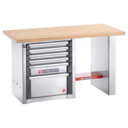 FACOM Heavy-duty workbench 1.5 m - 6 drawers - 1