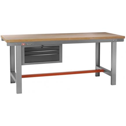 FACOM Maintenance workbench 2 m long with drawers - 1