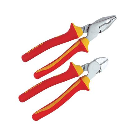 USAG Assortiment 1000V with combination pliers and diagonal cutting nippers (2 pcs.) - 1