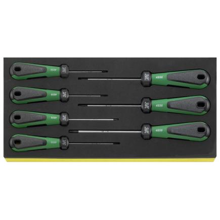 STAHLWILLE 3K DRALL set of screwdrivers 7 pcs. in TCS inlay - 1