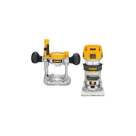DeWALT Plunge and Fixed Base Router  900W 36mm - 1