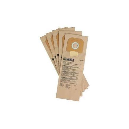 DeWALT Paper filter Bags for DWV920M (5pcs) - 1