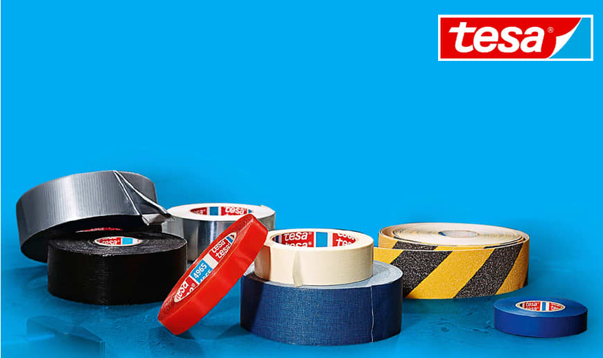 Tesa: Professional Adhesive Tapes, Mounting Tapes and Marking Tapes Available on Mister Worker