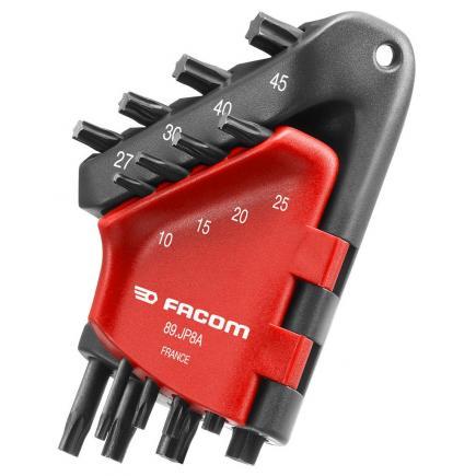 FACOM 89.JP - Set of Torx® keys in wallet - 1