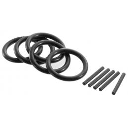 """EXPERT Set of 5 rings and 5 bushes for 3/4"""" impact sockets - 1"""