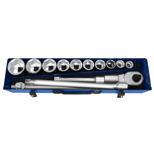"EXPERT E194682 - 3/4"" socket set 14 pieces - 1"