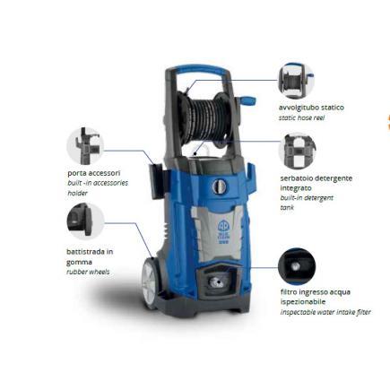 ANNOVI REVERBERI 14588 - AR 399 Professional electric cold water high  pressure washer, 140 bar, 450 l/h, 2000W