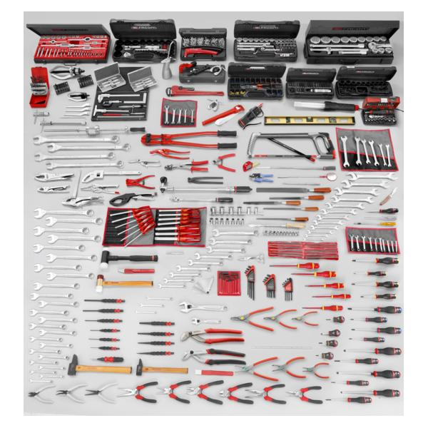 FACOM 2000.BBM160A - Set CM.160A with workbench 2000.BB1M3 and cabinet 2210 (528 pcs.) - 1