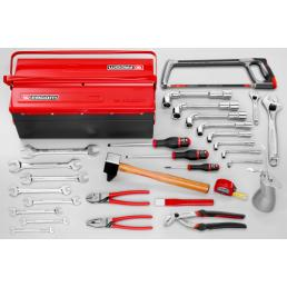 FACOM 29 piece metric tool set with 3 compartment box BT.9 - 1