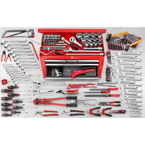 FACOM 2174.MAG5 - 160 piece metric tool set with chest BT.66 - 1
