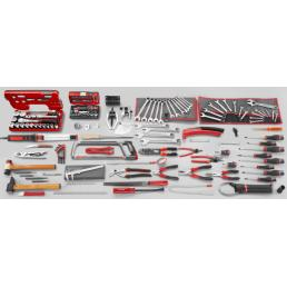 FACOM 153 piece metric automotive tool set - 1