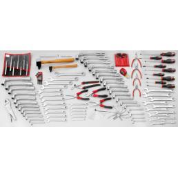 FACOM Set CM.JA with 5 compartment toolbox BT.13A (119 pcs) - 1