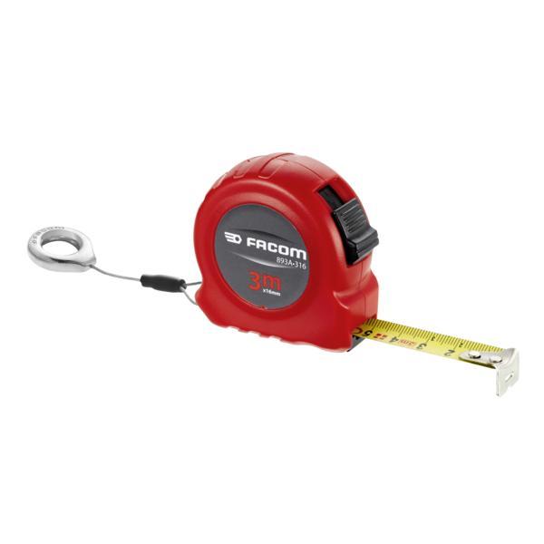 FACOM 893.316SLS - 893.SLS  ABS body tape measure - 2