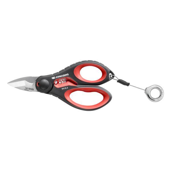 FACOM 841A.3SLS - Heavy duty scissors  SLS - 1