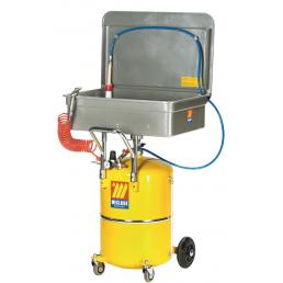 MECLUBE Washing collector with wheeled tank 65 l - 1