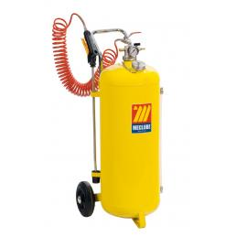 MECLUBE Polished steel pressure sprayer 50 l - 1