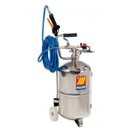 MECLUBE Stainless steel pressure sprayer AISI 316 24 l With foaming device - 1